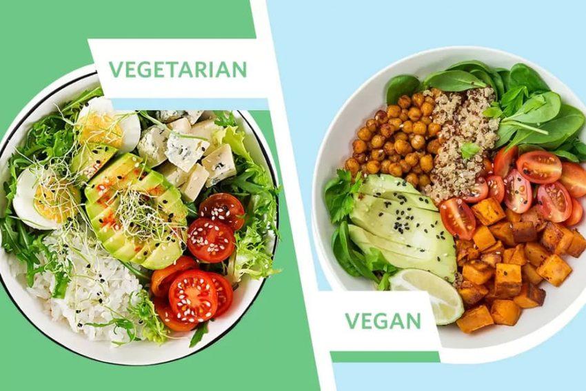 Vegan är striktare än vegetarian